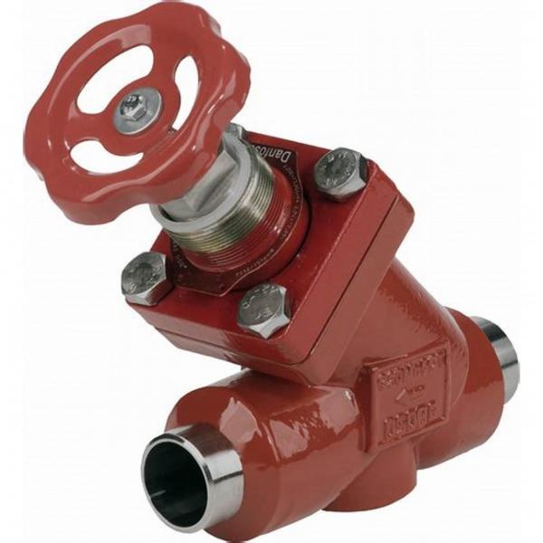 Danfoss Shut-off valves 148B4663 STC 125 M ANG  SHUT-OFF VALVE HANDWHEEL #1 image